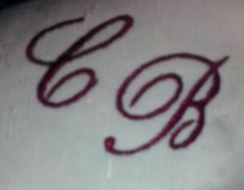cojín anillos de bodas personalizado iniciales bordadas