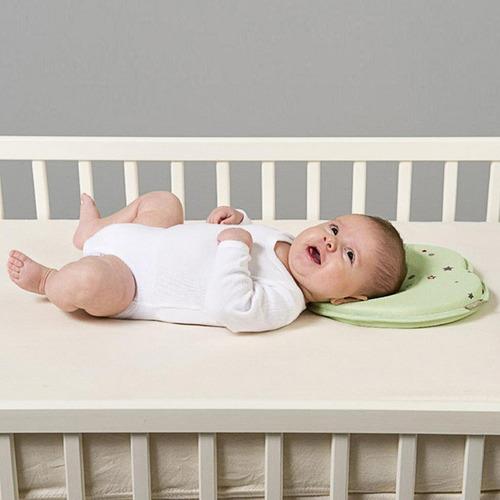 cojín bebe, cojín cabeza plana.