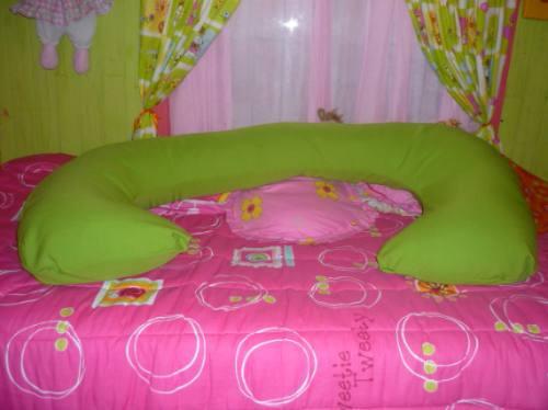cojin c mas 1 regalo (almohada para descanso en el embarazo)