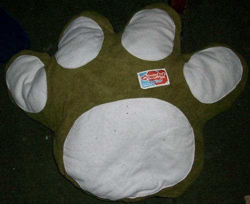 cojín cama patita chica gato/perro 60 cms