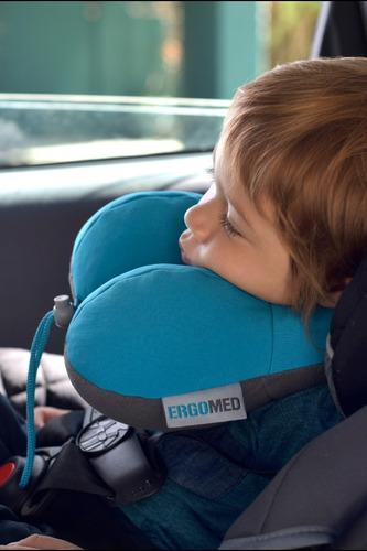 cojín cervical infantil silla de auto