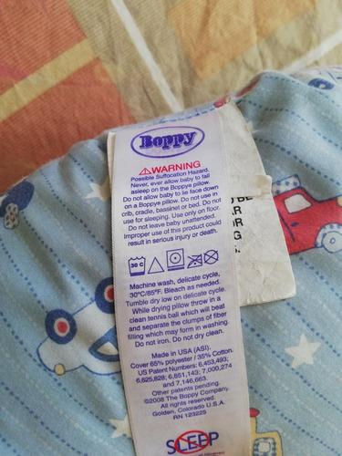 cojín de lactancia boppy original usado