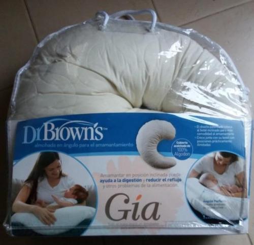 cojín de lactancia dr. brown's gía - entrega inmediata!!