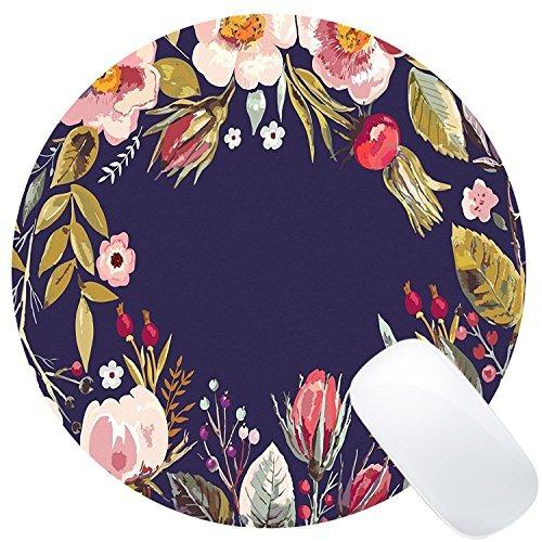 cojín de ratón redondo del juego de wknoon diseño de encargo