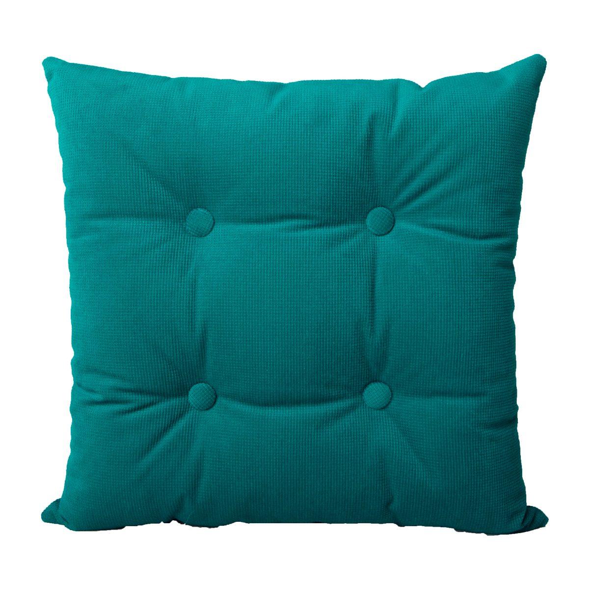 Cojin Decorativo Liso Decoracion Verde Aqua 40 X 40 359 00 En  # Beestudio Muebles