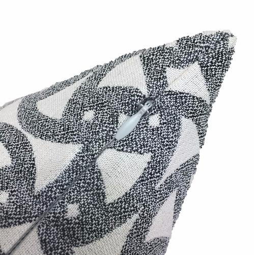 cojin decorativo tarlo 45x45 - gris