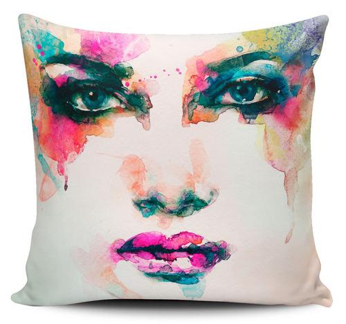 cojin decorativo tayrona store cara mujer art 34