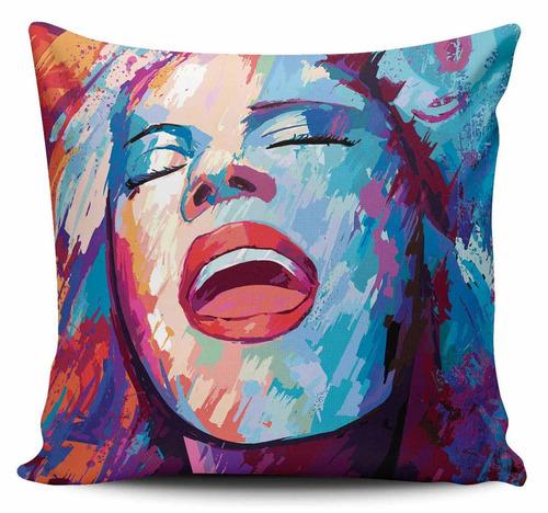 cojin decorativo tayrona store cara mujer art 40