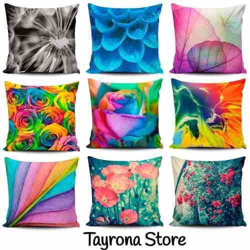 cojin decorativo tayrona store flor colores 01