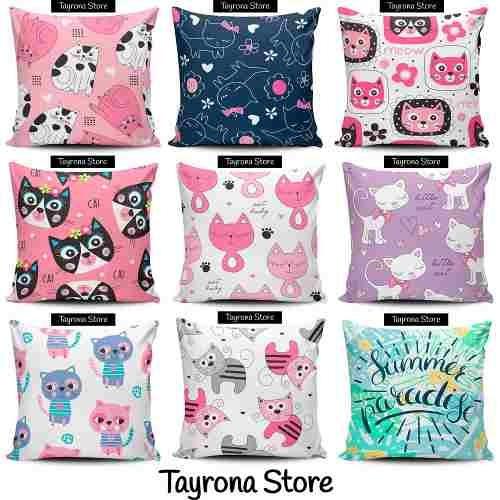 cojin decorativo tayrona store gatos 48