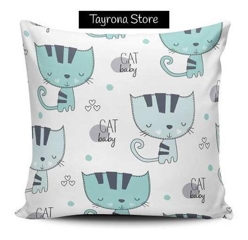 cojin decorativo tayrona store gatos 50