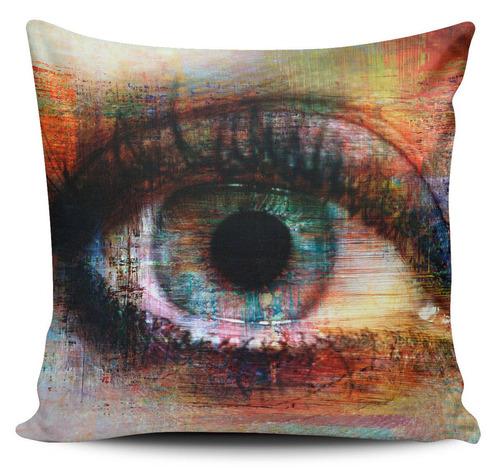 cojin decorativo tayrona store ojo pintura