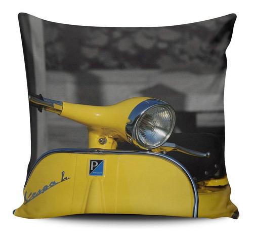 cojin decorativo tayrona store vespa amarilla 01