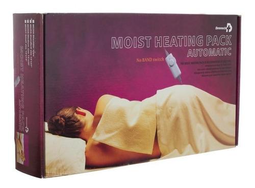 cojín eléctrico térmico de calor húmedo extra grande - besme
