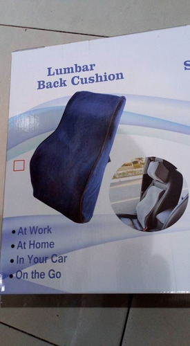 cojin espaldar lumbar para auto,casa,trabajo viscoelastica