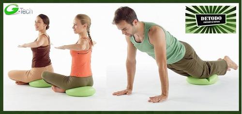 cojín inestable equilibrio y balanceo, terapia, gym, pilates