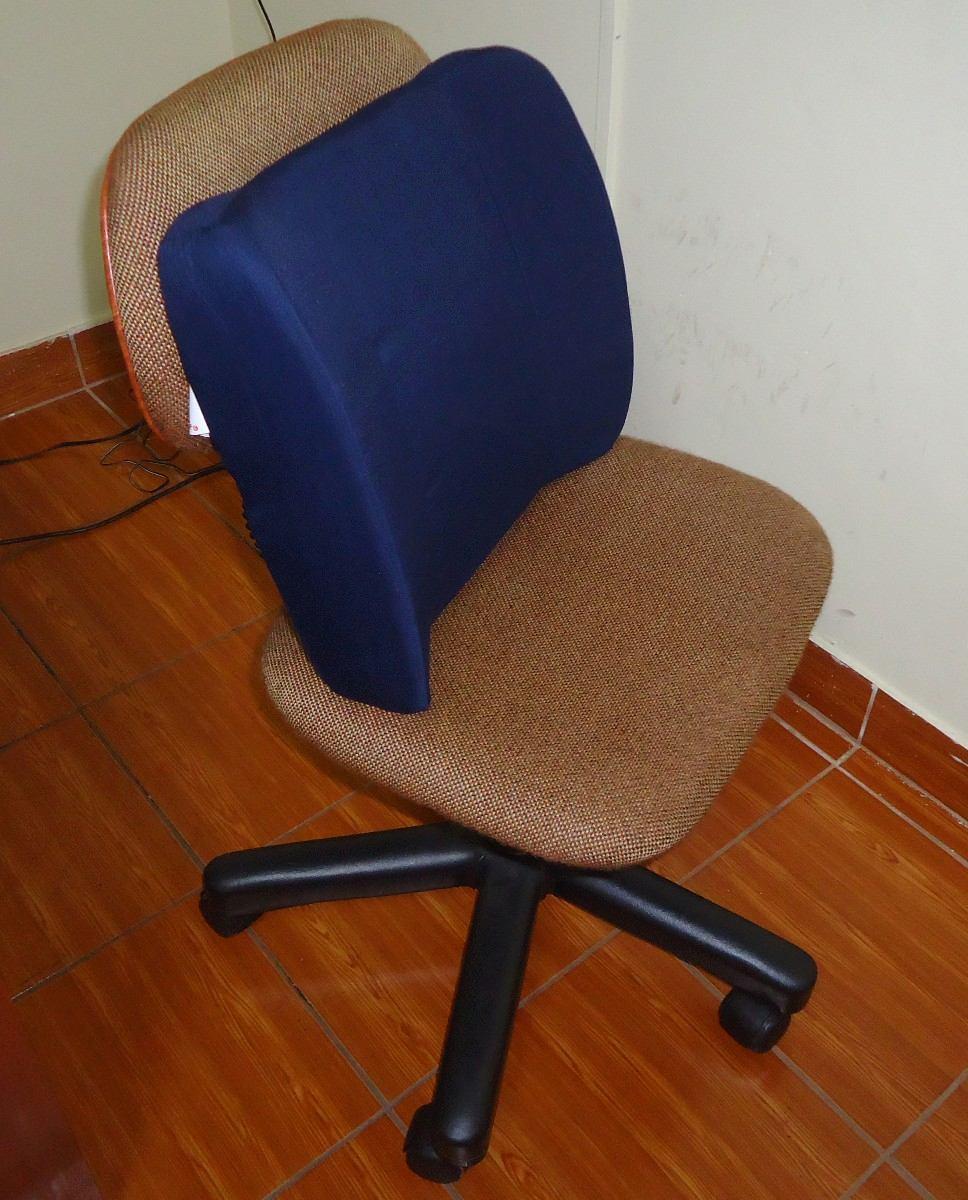 Cojin lumbar para el auto u oficina silla ruedas coj n s for Cojin lumbar silla oficina