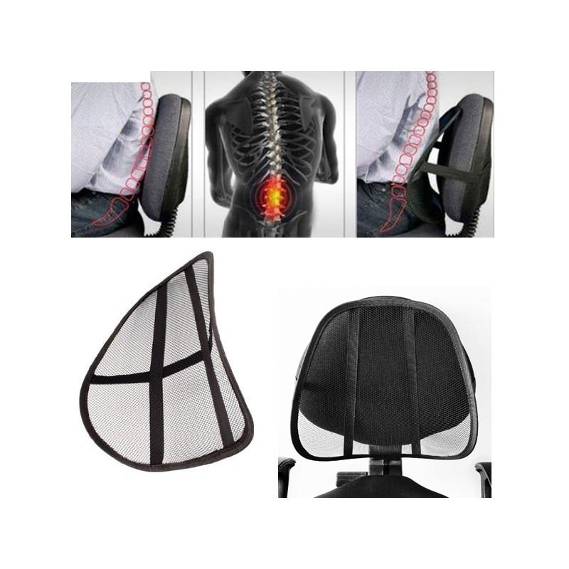 Cojin Lumbar Para Silla Oficina Dolor De Espalda Estress - S/ 14,99 ...