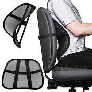 Cojin Lumbar Para Silla Oficina / Dolor De Espalda Para Auto