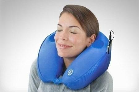 cojin masajeador para cuello c/parlante-conecxion celular