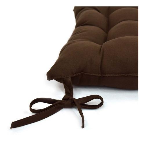 cojín multiusos para silla porto cocoa café  vianney