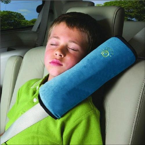 cojín o almohada para cinturón de seguridad para niños