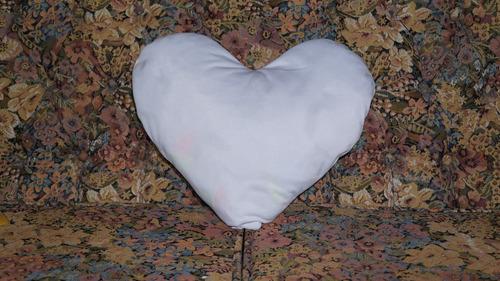 cojin para sublimacion forma de corazon! somos fabricantes!!