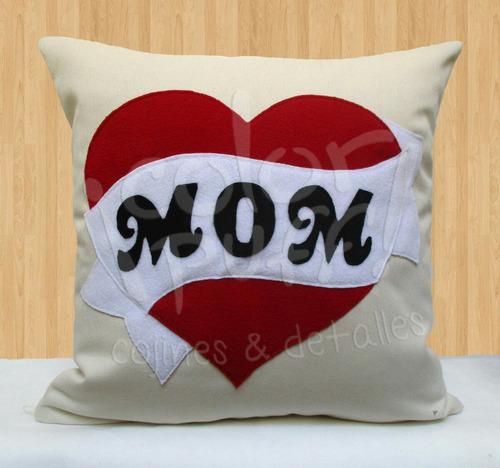 cojin personalizado decorativo dia madre mama mom colorpuff