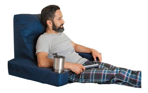 cojín respaldo café para cama , almohada ortopédica