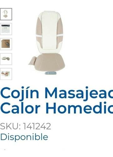 cojín silla masajeador shiatsu
