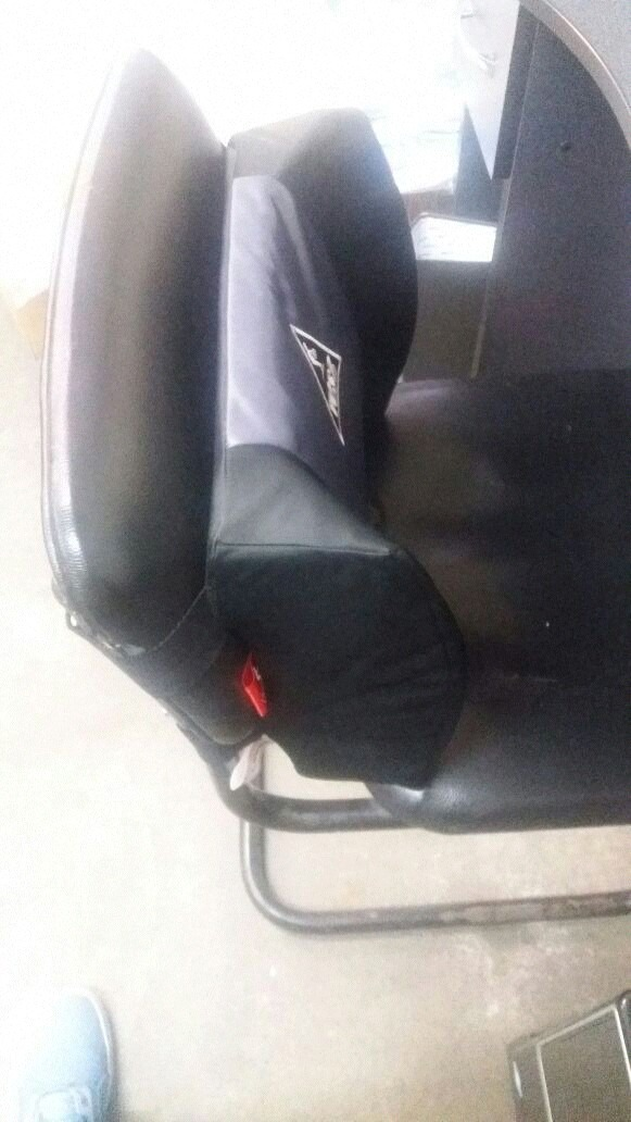 Cojin soporte lumbar espalda para sillas o asientos s for Cojin lumbar silla oficina