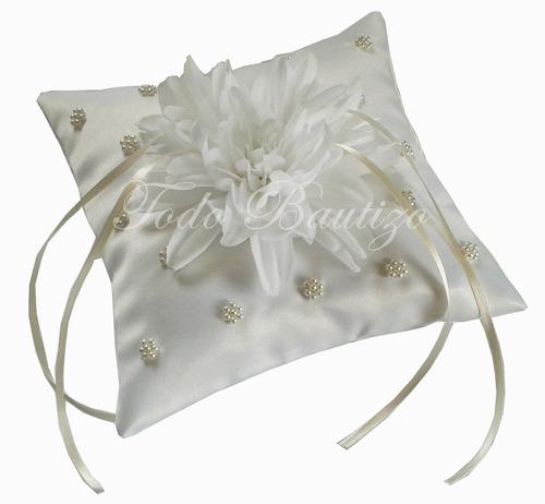 cojin,almohada para anillos,aros,arras, boda,matrimonio