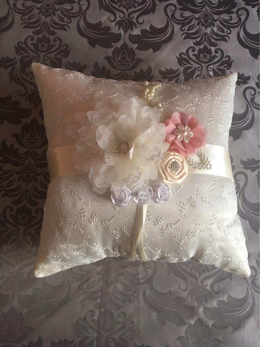 Coj ncojin nupcial coj n reclinatorio cojines para boda 1 en mercado libre - Modelos de cojines decorativos ...