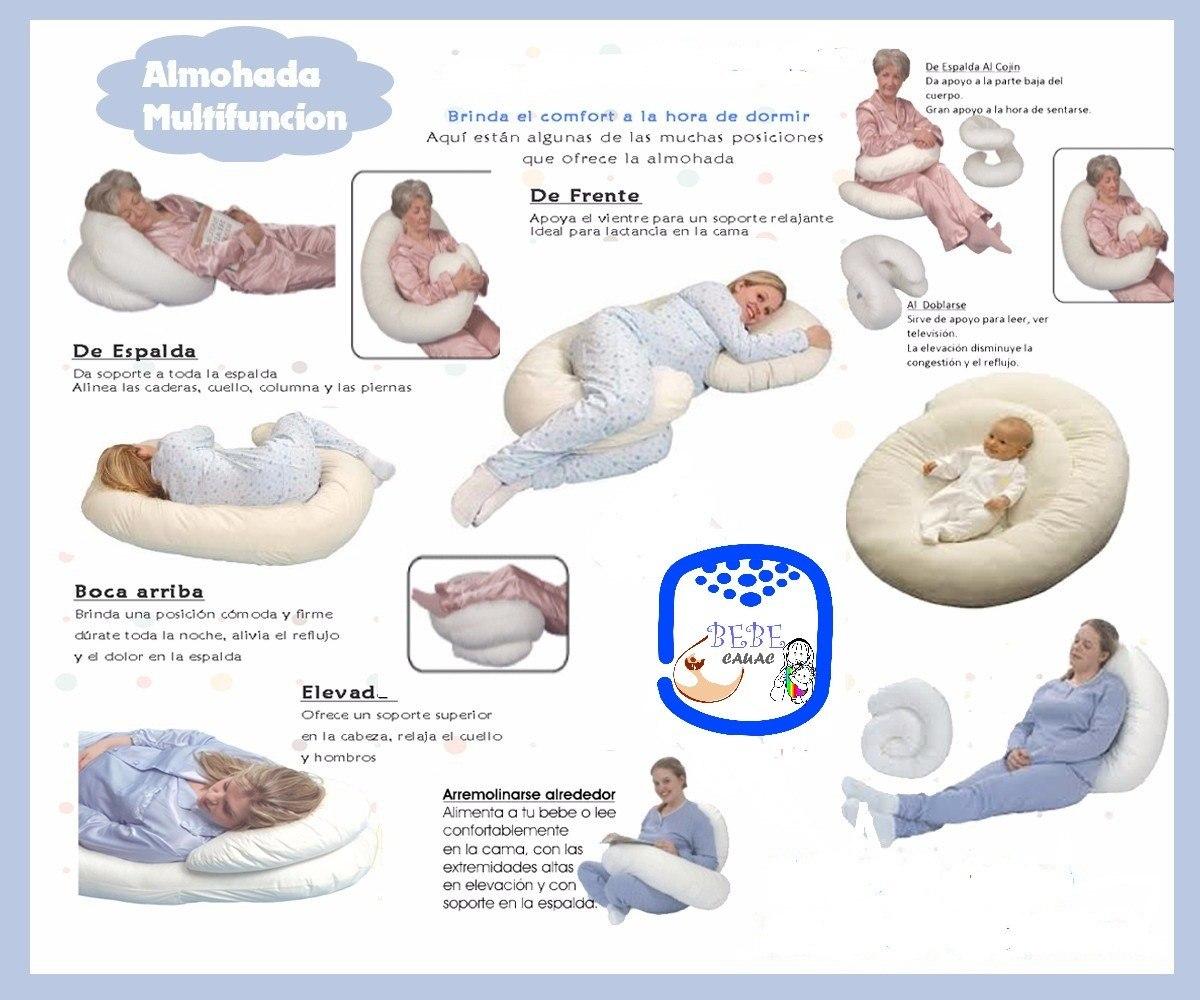 Cojines almohadas de embarazo y lactancia en - Almohadas buenas para dormir ...