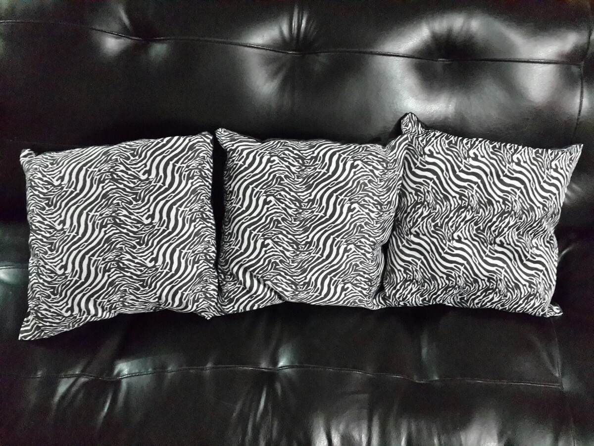 Cojines Animal Print Cebra Ambas Caras De 35x35cm   Bs. 600,00 en