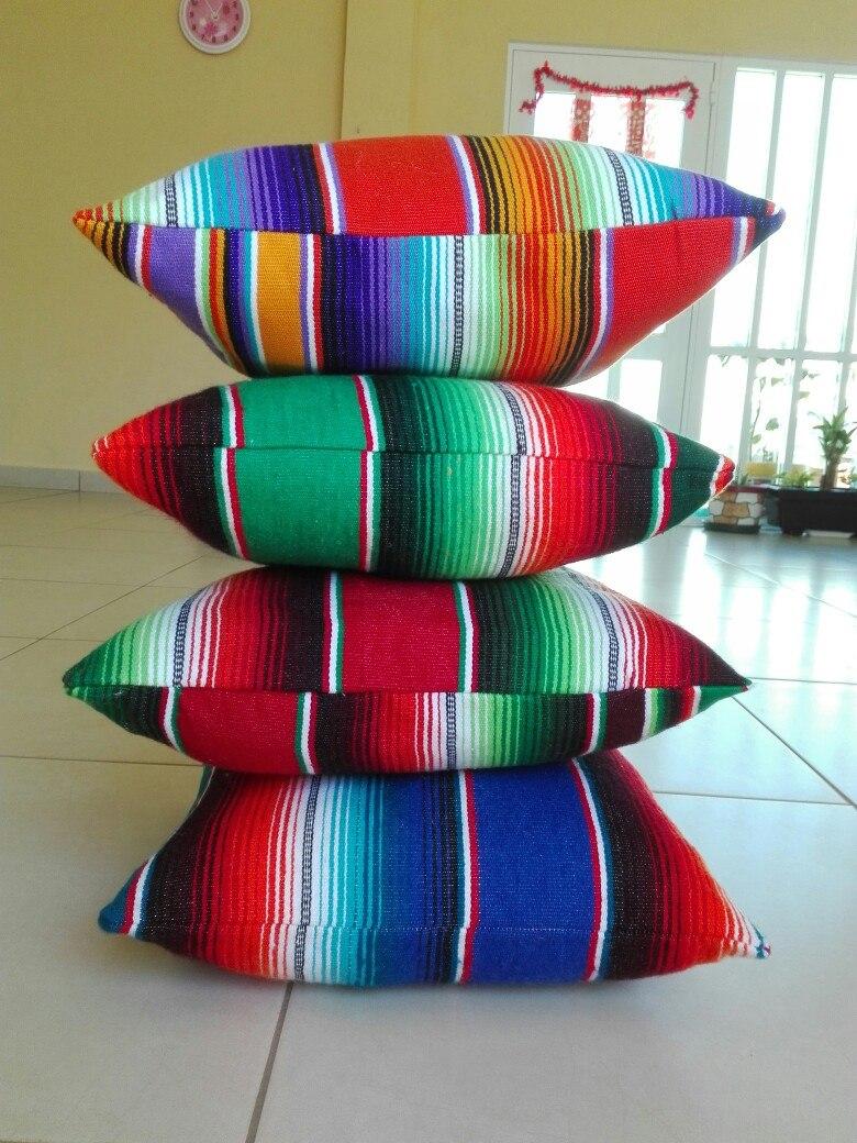 Cojines Artesanales Mexicanos   $ 198.00 en Mercado Libre