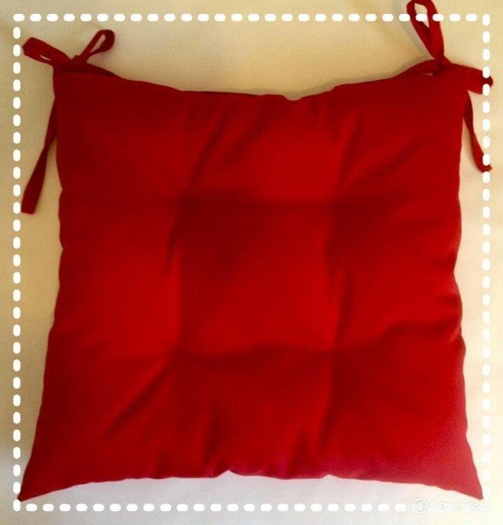 Cojines C/amarra Sillas Comedor O Terraza 50x50 Pack - $ 26.990 en ...