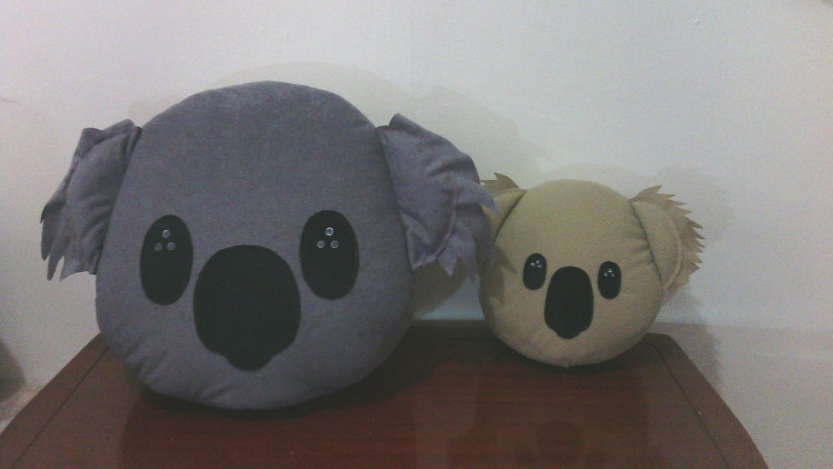 cojines caritas del whatsapp monos gigantes