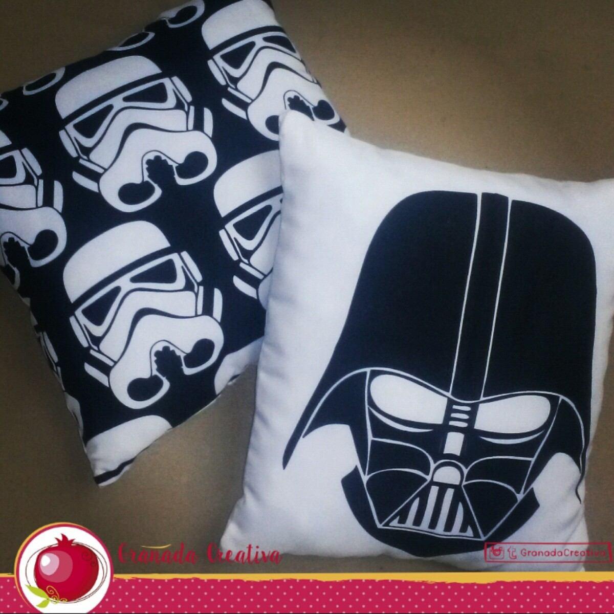 Cojines De Darth Vader Stormtrooper Guerra De Las Galaxias   Bs