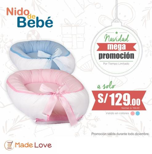 cojines de lactancia y nidos de bebe extra premium