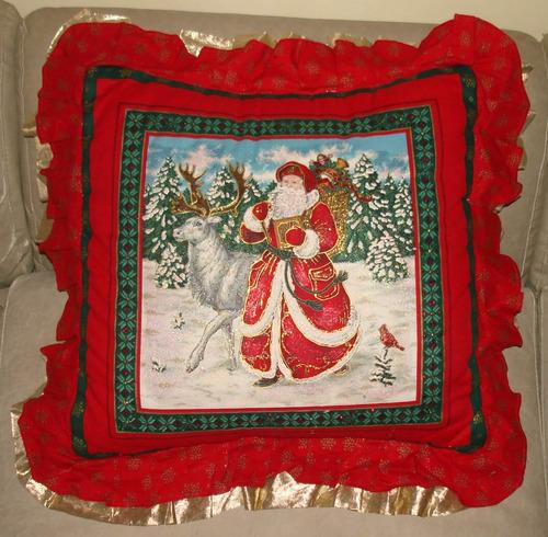 cojines de navidad decorativos bordados especial navideño