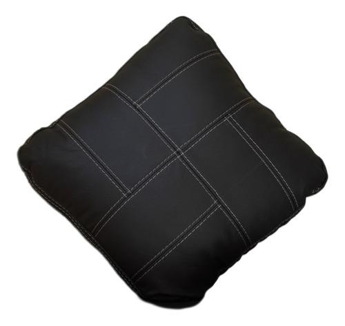 cojines decorativo 100% piel genuina 40x40 confortopiel
