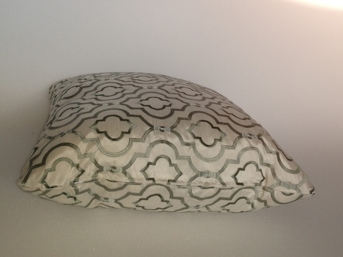 cojines decorativo tela decosimil crochet color menta