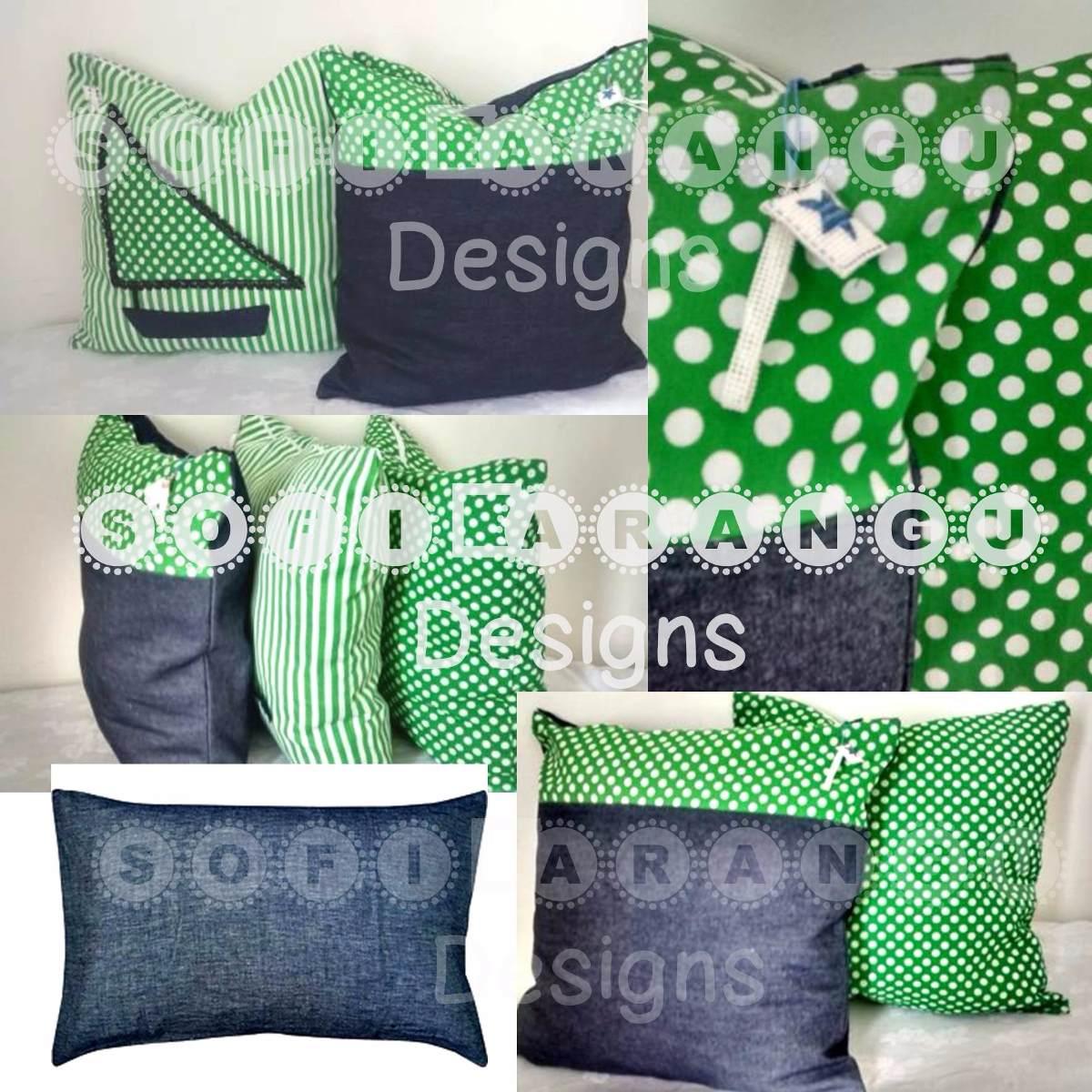 Cojines decorativos artesanales hechos a mano bs 950 - Cojines de lana hechos a mano ...