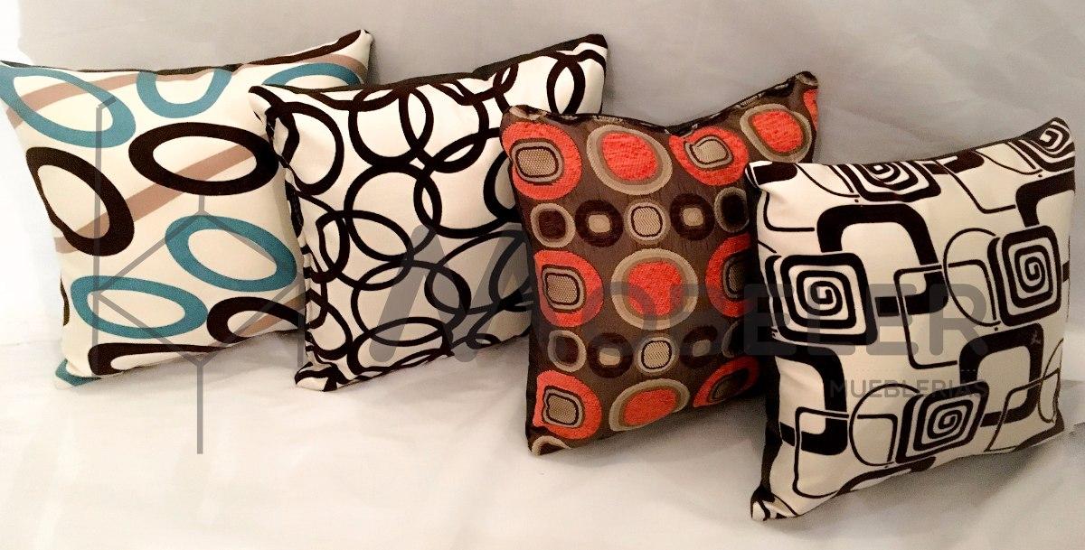 Coj nes decorativos salas lounge minimalista modernas cojin en mercado libre - Modelos de cojines decorativos ...