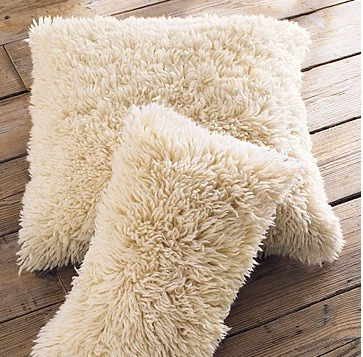 cojines decorativos de peluche 40 cms ó cualquier tela.