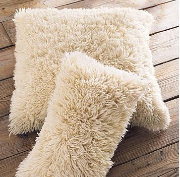 cojines decorativos de peluche 45 cms ó cualquier tela.