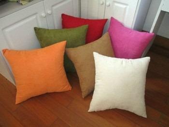 Cojines decorativos en tela suede en mercado libre - Cojines para sillones de terraza ...