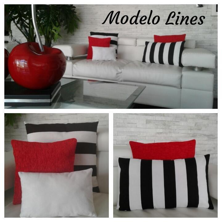 Cojines Decorativos Modernos Combo Oferta   Bs. 1.500,00 en