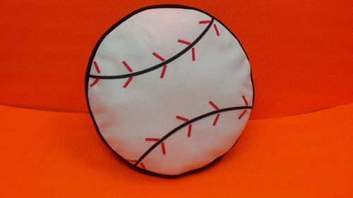 cojines deportivos pelota de béisbol grande